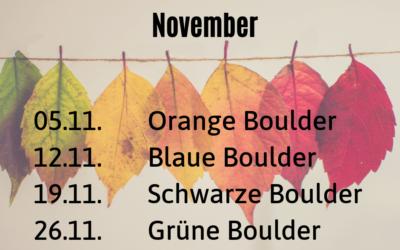 Umschraubtermine im November