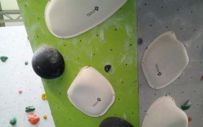 Neue weiße Boulder