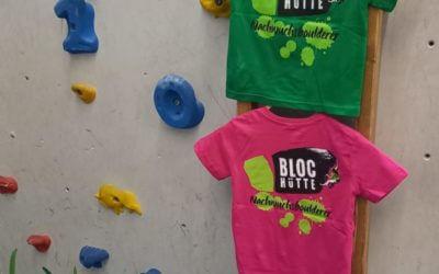 Für unsere Nachwuchsboulderer: Kinder-Boulder-Shirts