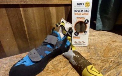 Schuhtrockner von Sidas für eure Kletterschuhe